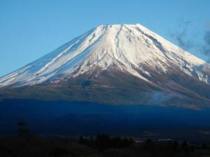 富士山も綺麗でした。加藤政治君撮影。